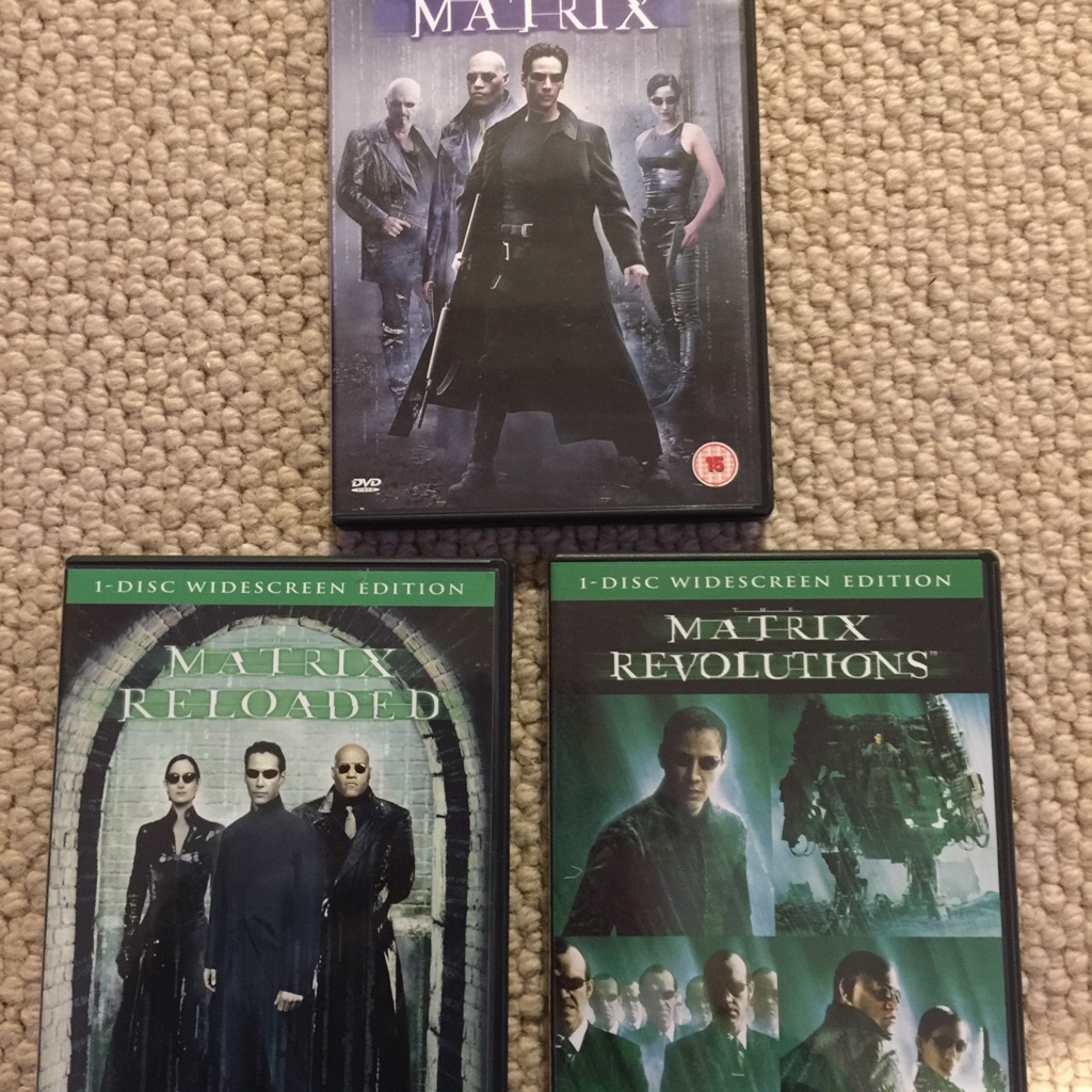 DVD Matrix Trilogy