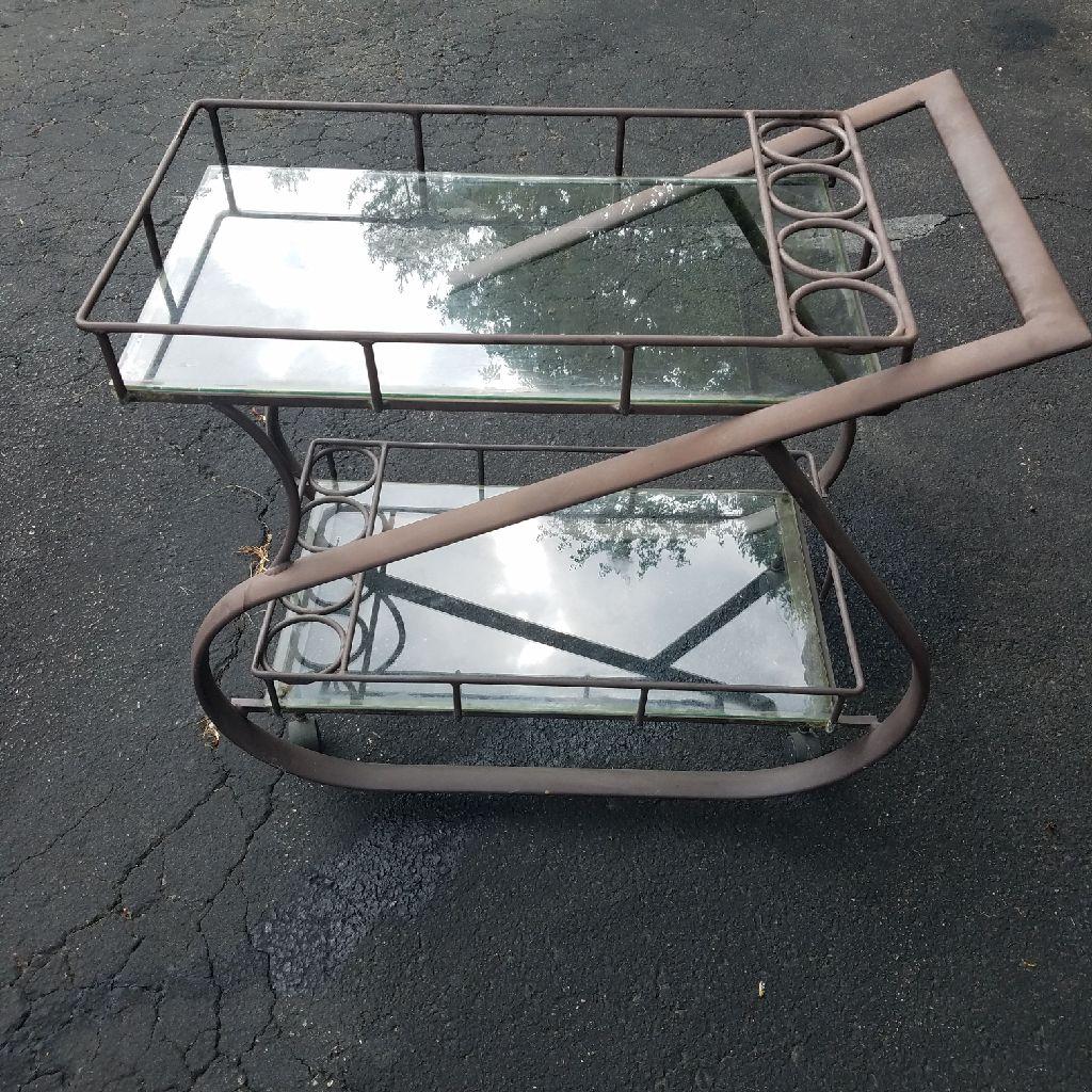 Deluxe Tea Cart