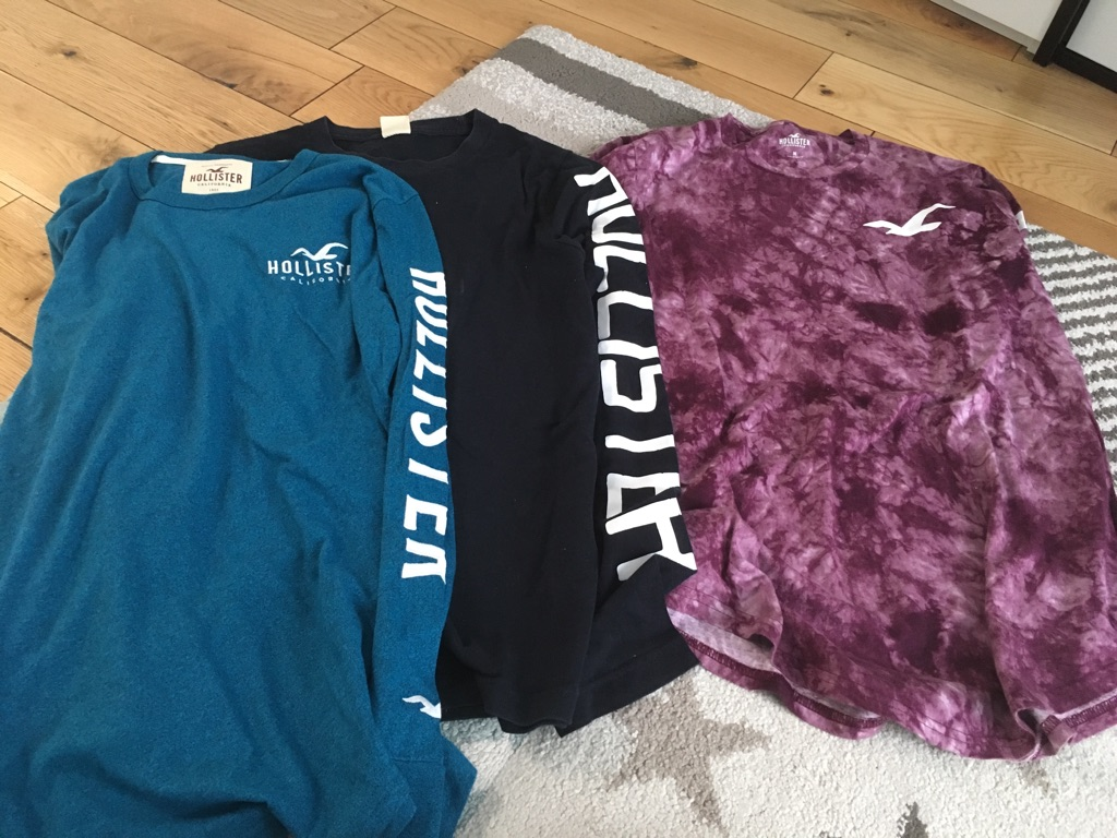 Hollister long sleeve tops size M