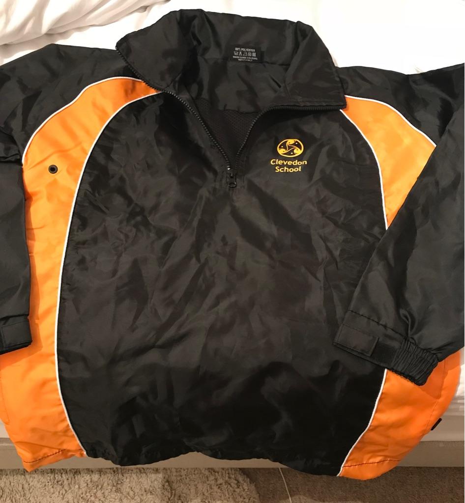 Clevedon school waterproof PE Jacket