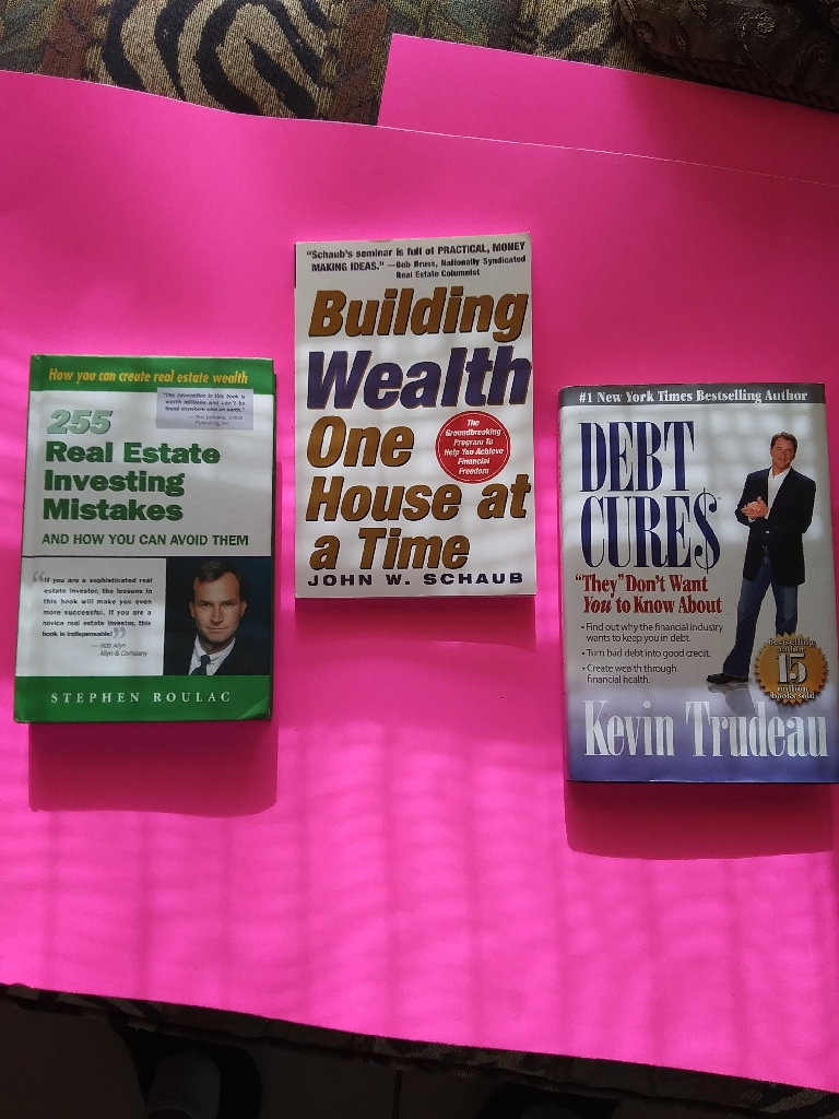 3 new Financial Investing Books, one signed