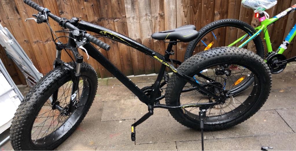 Fat tire bike
