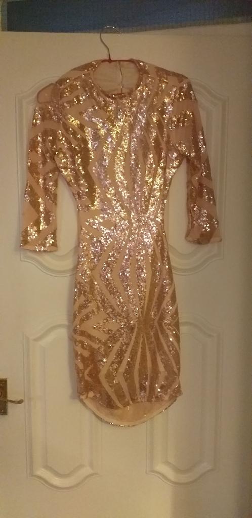 Stunning sequence dress