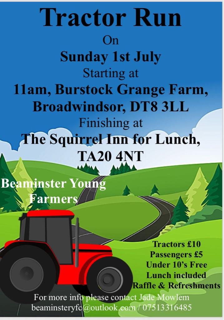 Beaminster YFC Tractor Run