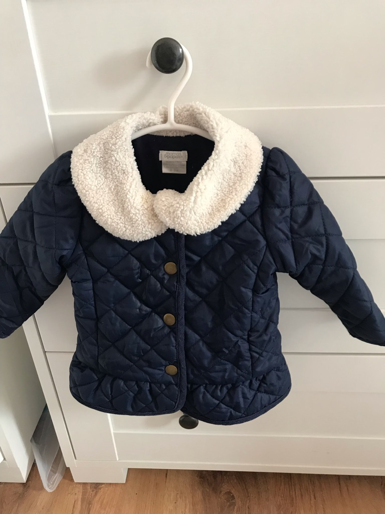 Baby jacket 6-9 months Mamas and Papas