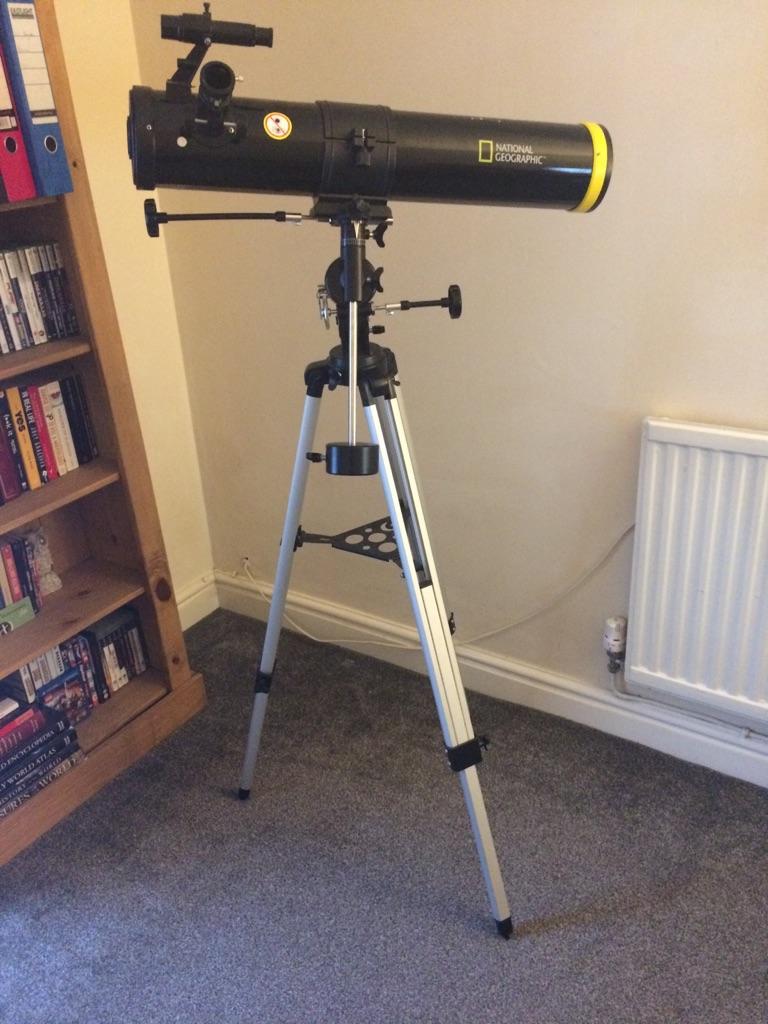 National geographic 76/700 telescope