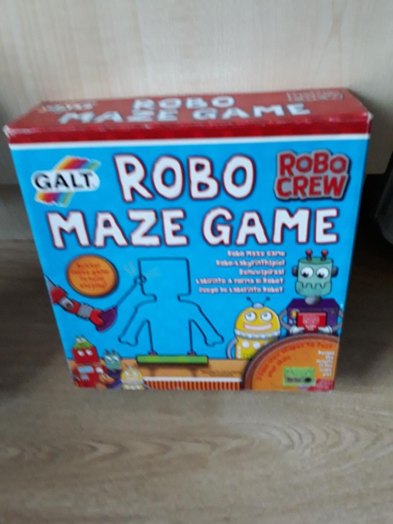 Robo Maze Game