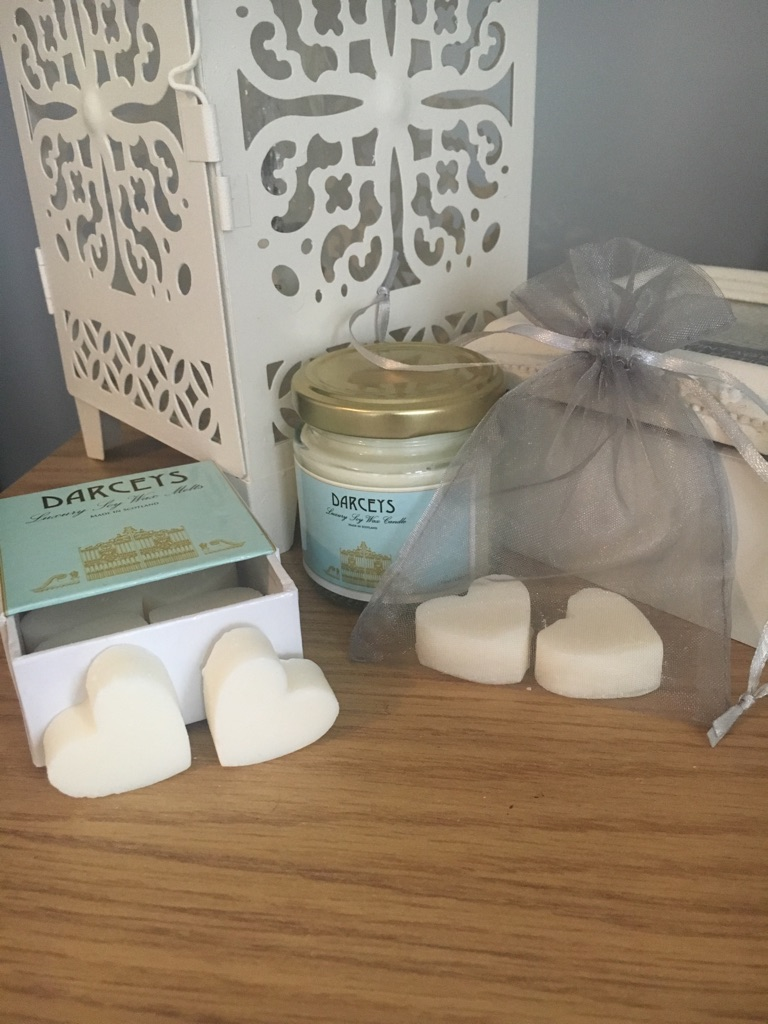 Soy wax wedding favours