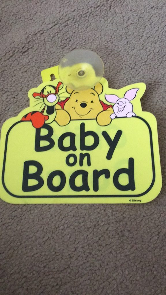 Child/baby on board