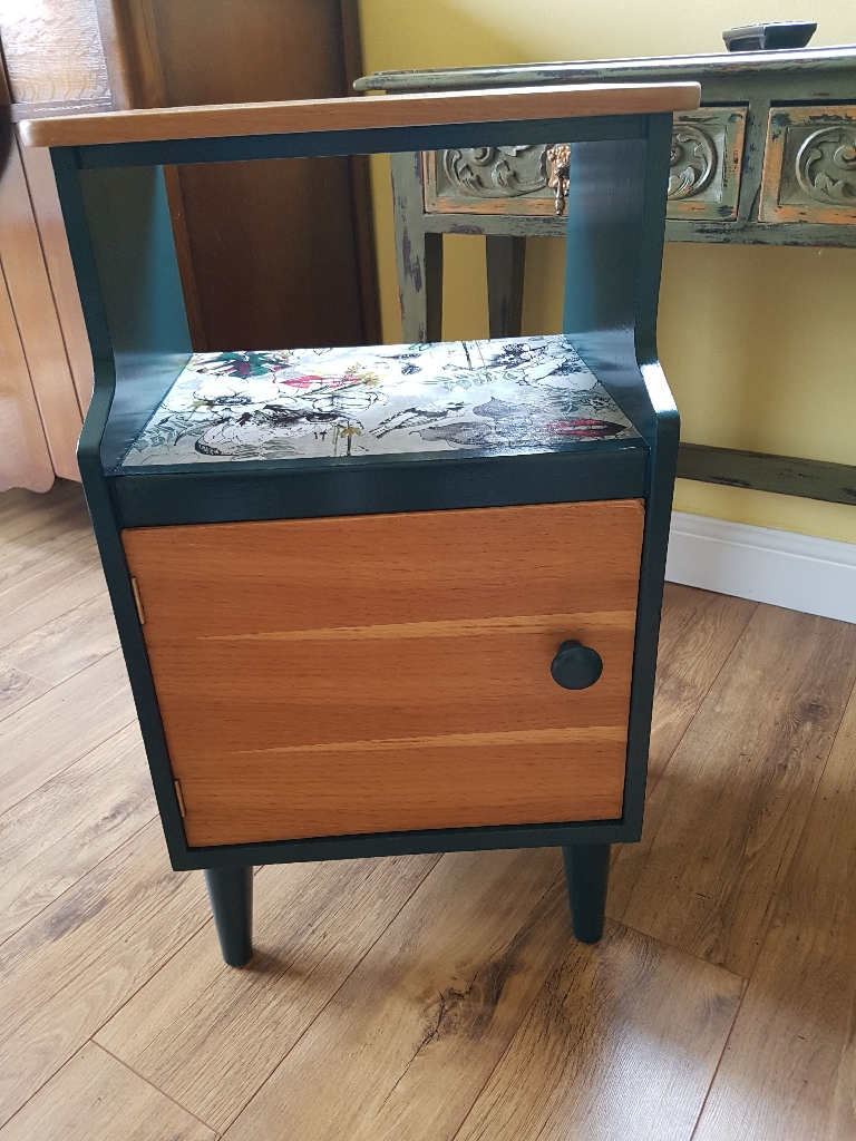 Mid century bedside cabinet