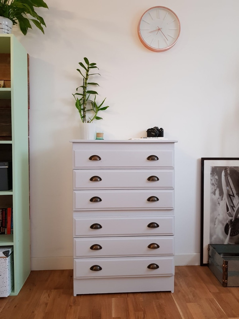 Refurbished chest of drawers/dresser