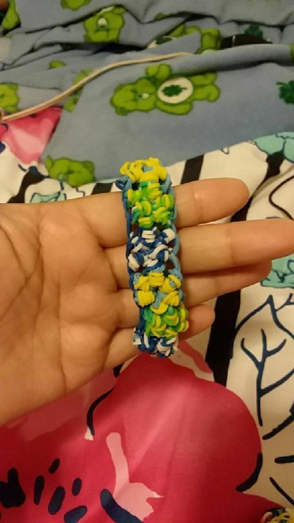 Handmade bracelets and keychain