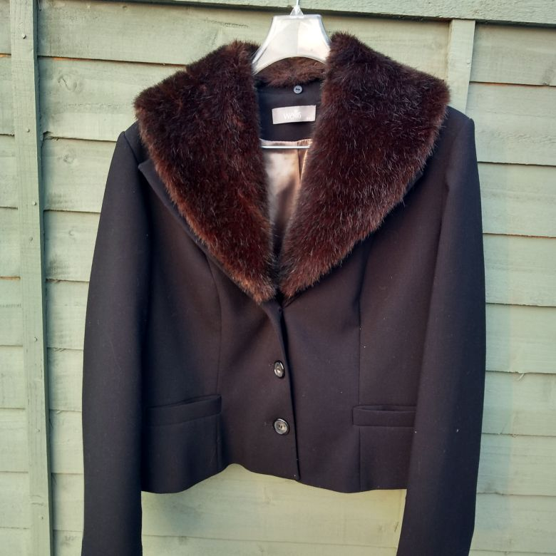 Wallis black jacket