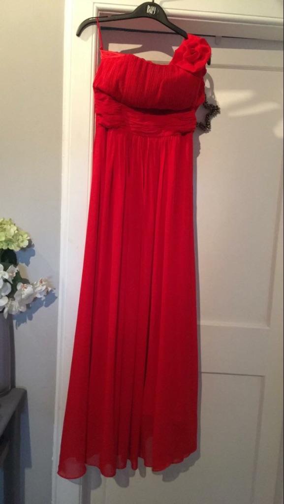 Ladies red dress
