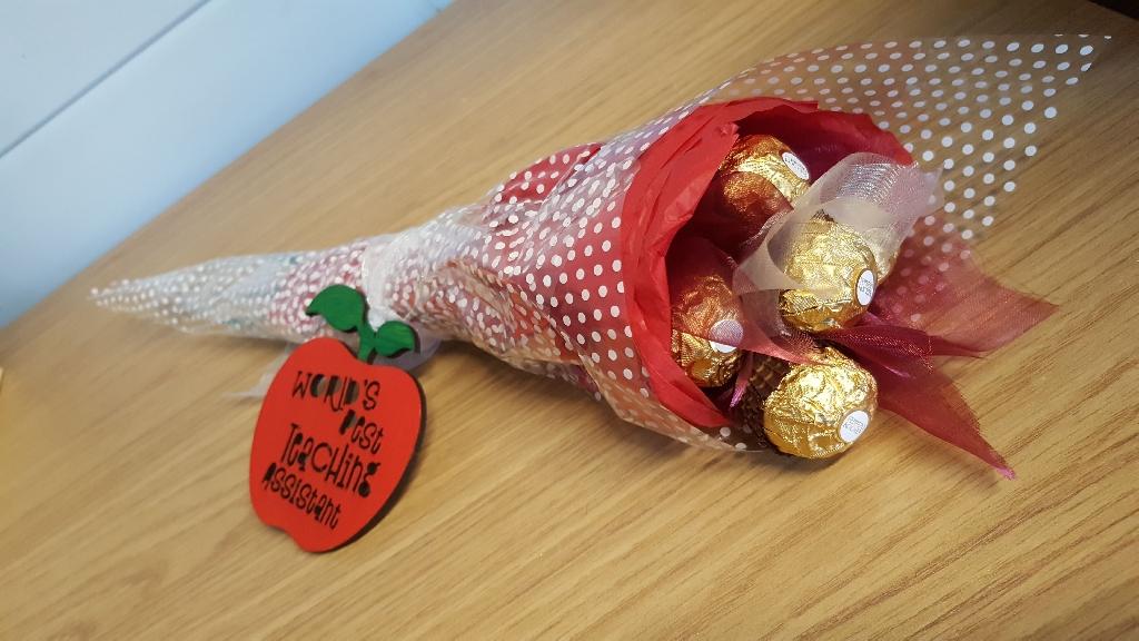 Hand Held Bouquets Teacher / Teacher Assistant Gifts