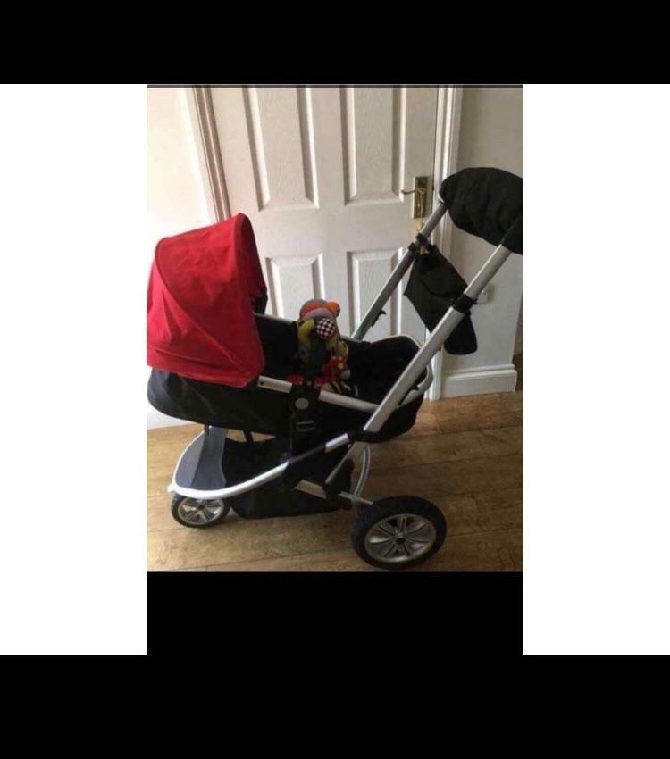 Red Mothercare Pram
