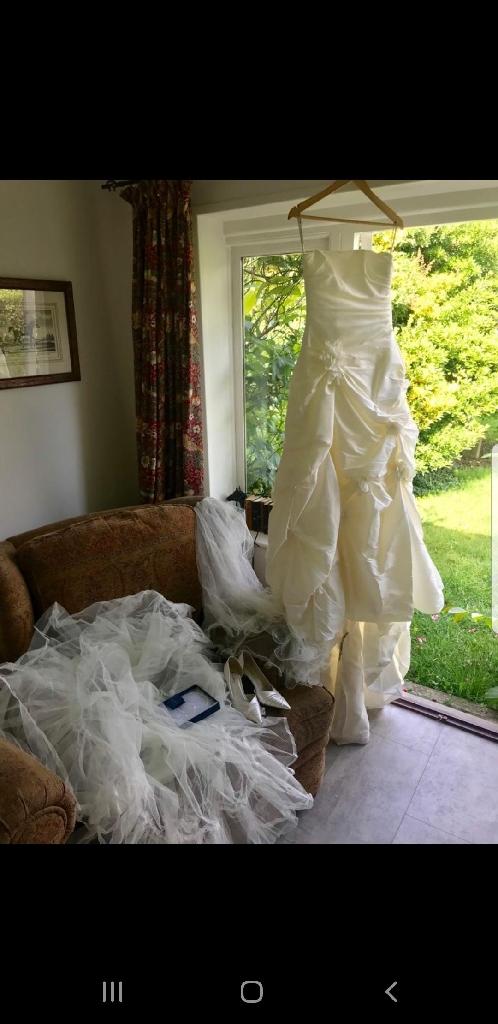 Wedding dress Maggie sottero fiorenza