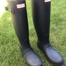 Ladies Hunter wellies size 6