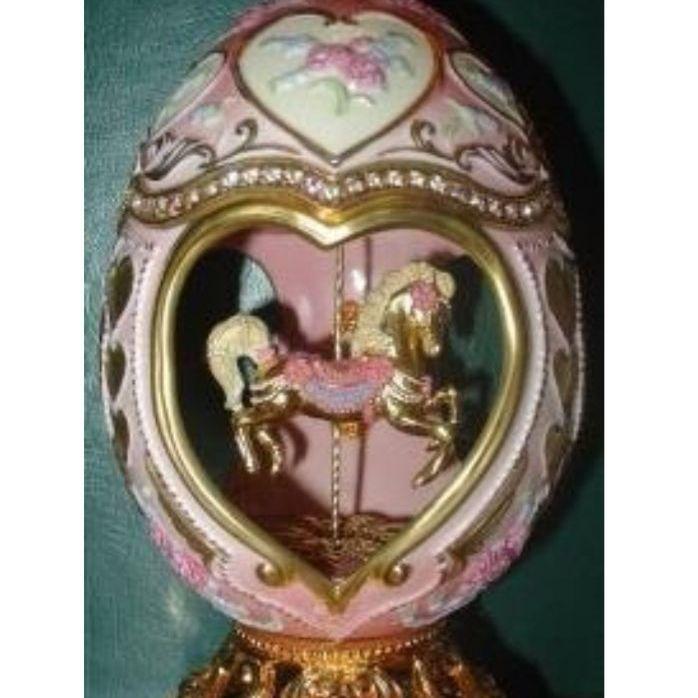 Faberge musical sweetheart carousel