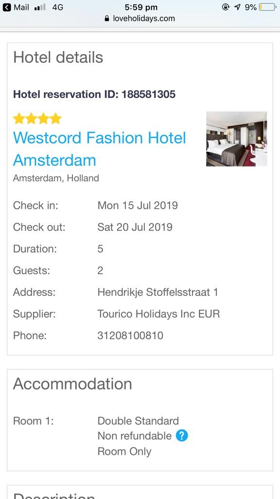 Amsterdam Holiday