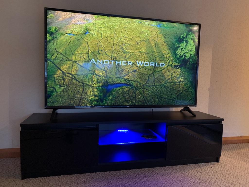 LG TV 65 inch Ultra HD, 4K HDR, Smart, LED - Black