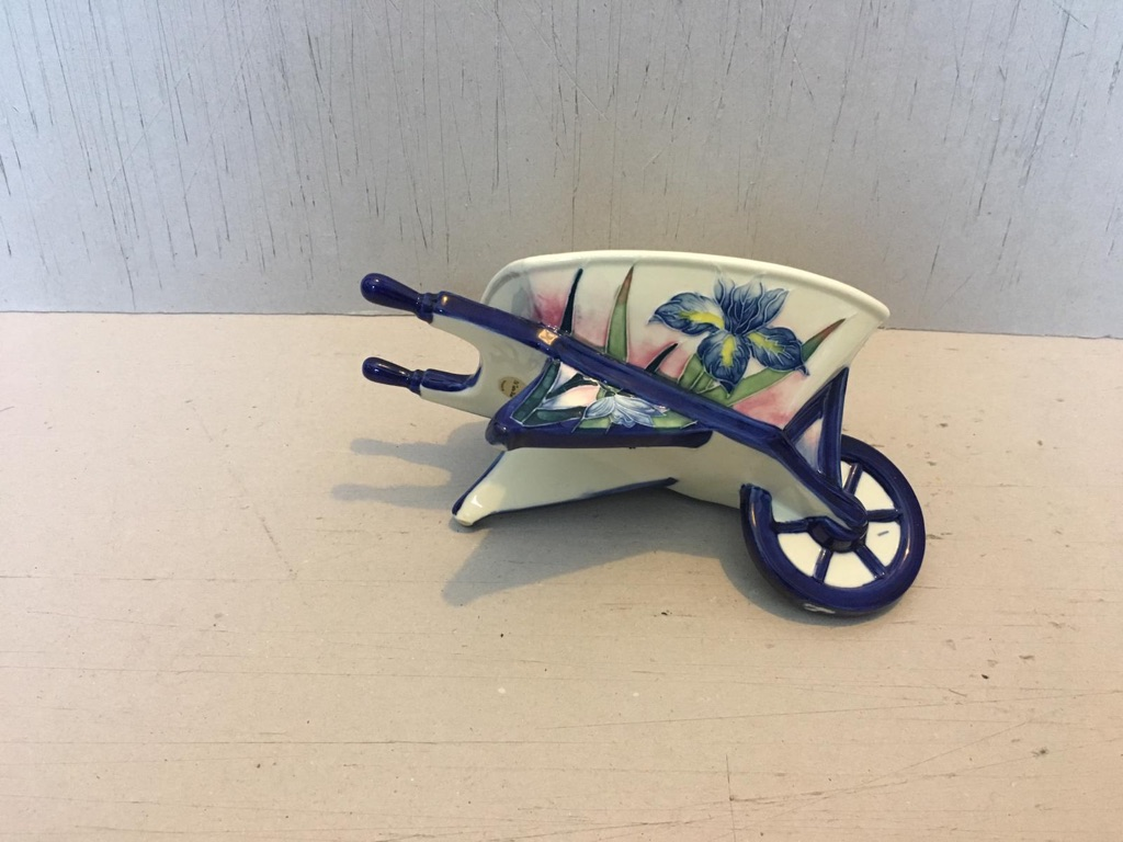 Hand painted wheelbarrow