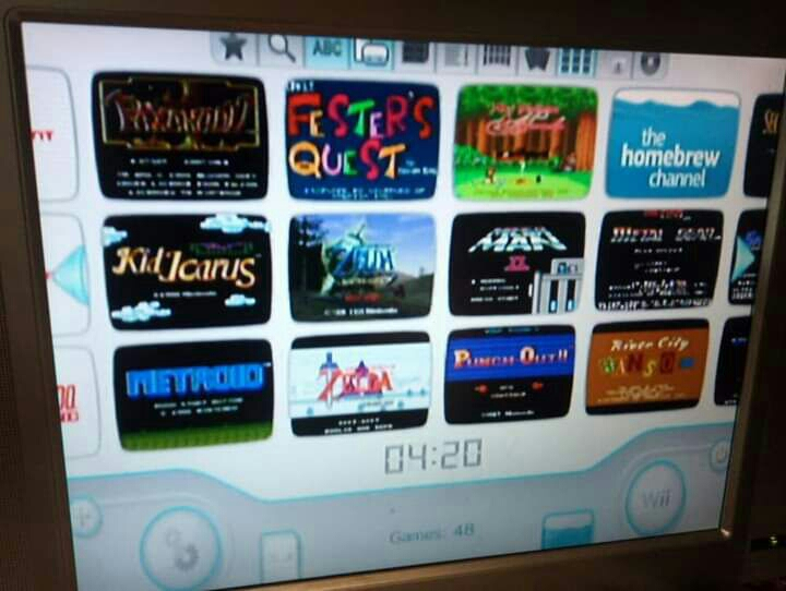 $69.99 Nintendo Wii with Games Built in