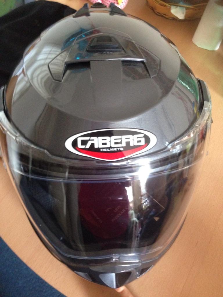 Motorcycle helmet size M