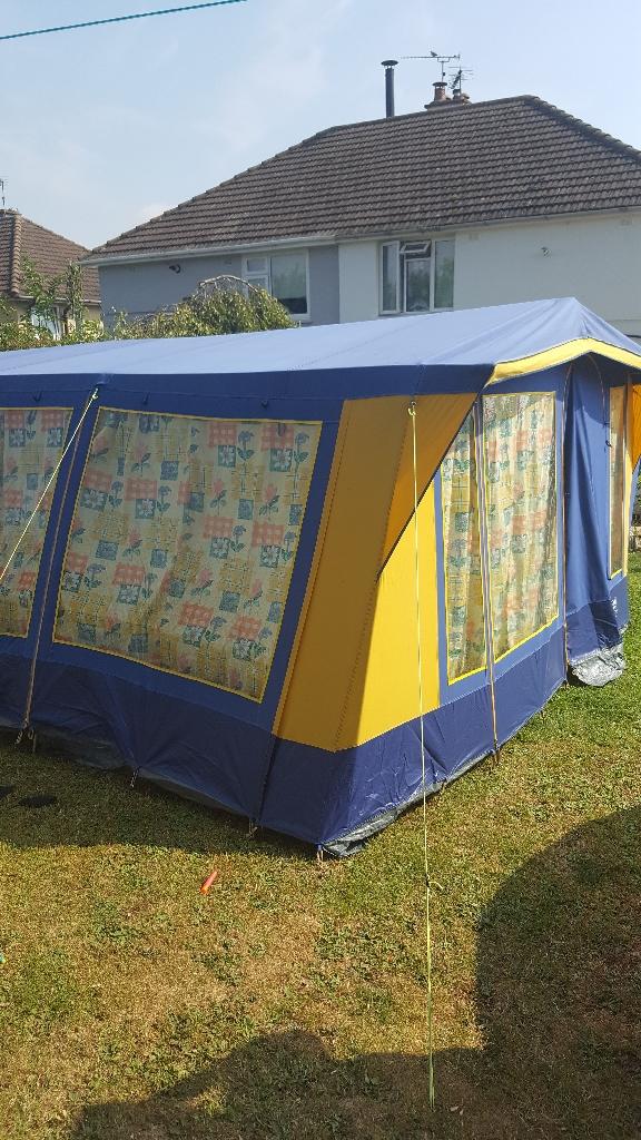 Tent suncamp canvas frame