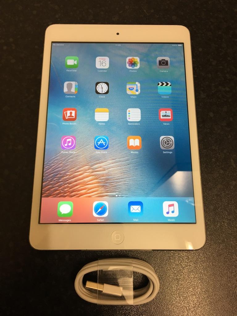 iPad Mini 1 16GB Silver - 4G Unlocked