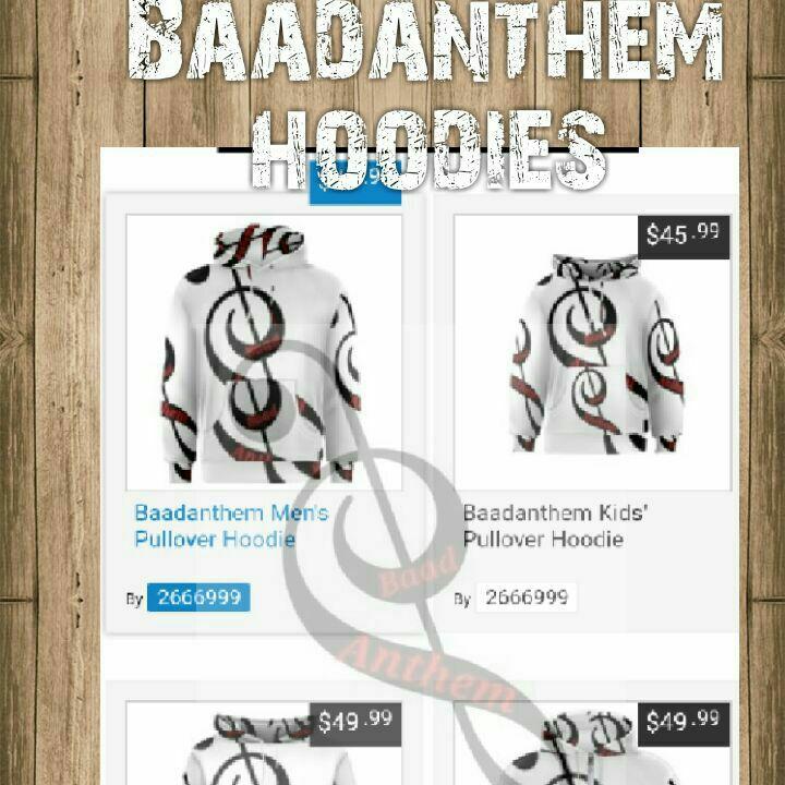 BAADANTHEM HOODIES