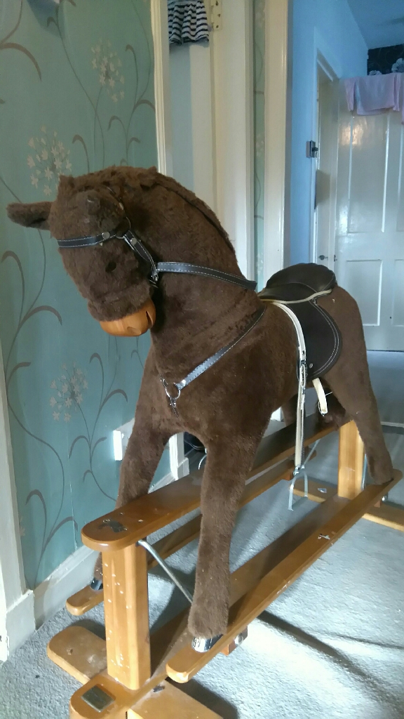 Mamas & Papas Rocking Horse perfect condition