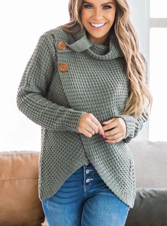 Wrap sweater 20% off using my code below ⬇️