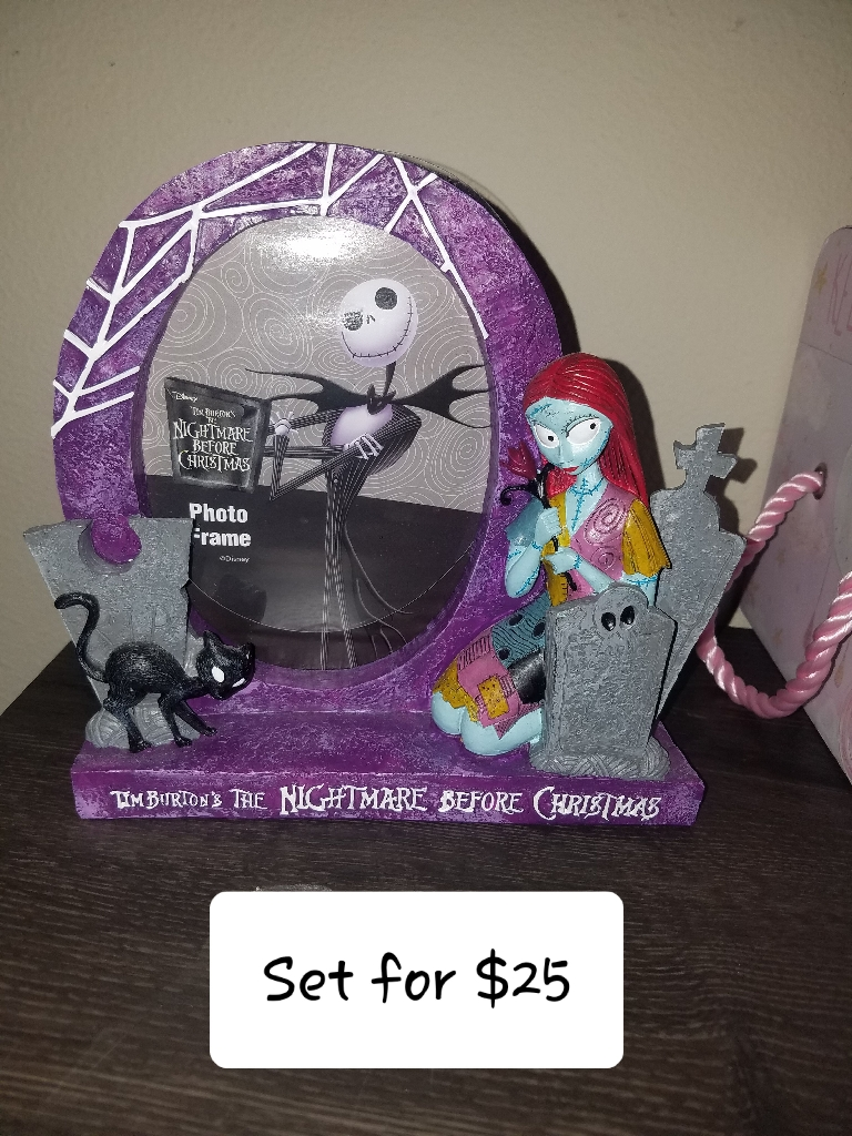 Nightmare before christmas frames