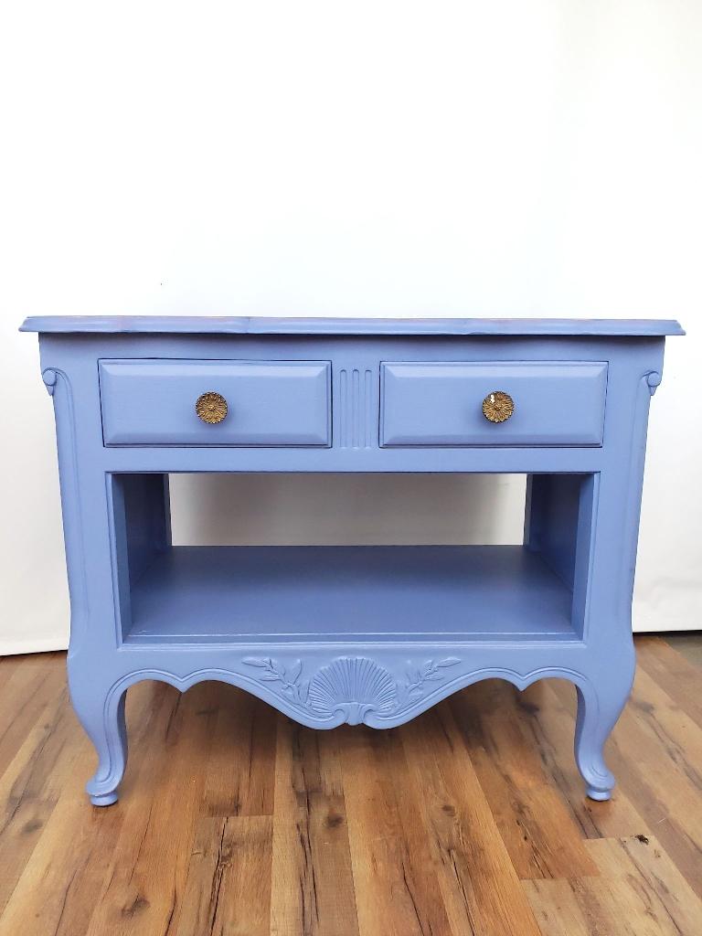 Vintage large nightstand or accent table