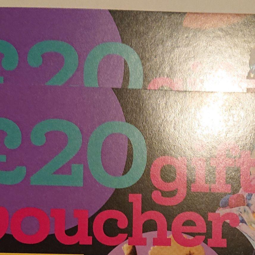 Creams £40 Vouchers for Sale