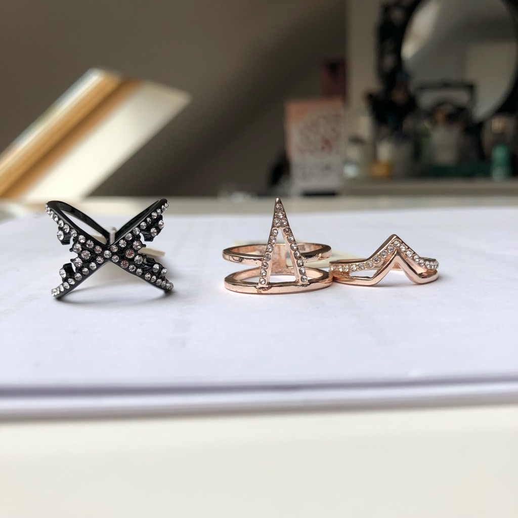 Rings (£7 each)