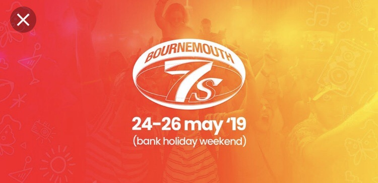 2x Bournemouth 7s weekend camping tickets