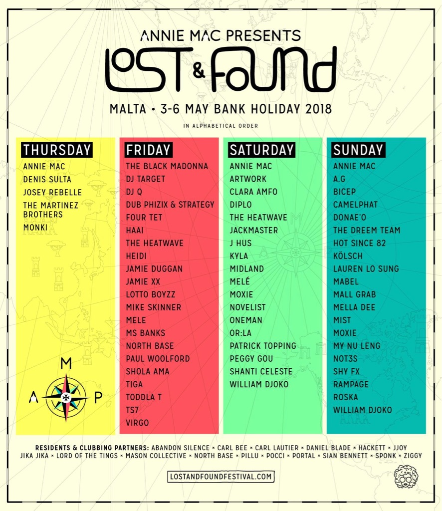 2 x VIP AMP Lost and found festival tickets with accommodation and transfers
