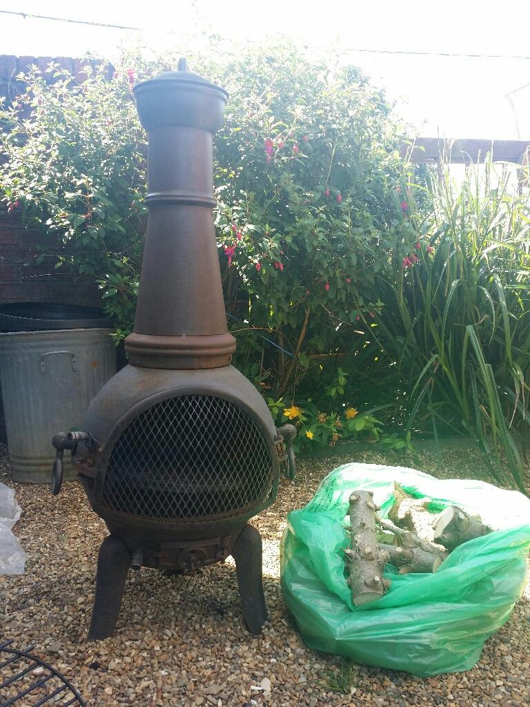 Large BBQ Chimnea