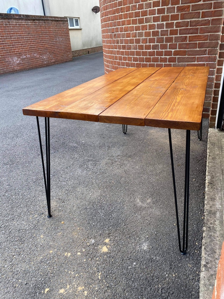 Bespoke hand made dining table - ask for quote