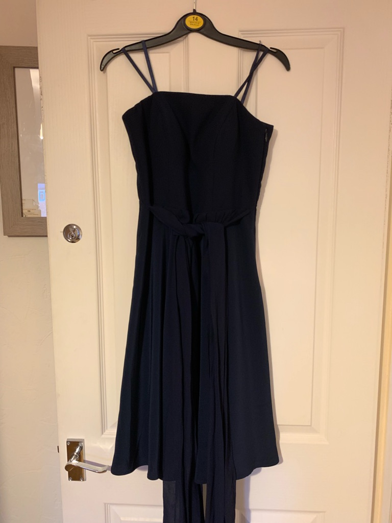 Navy monsoon dress NWT size 8