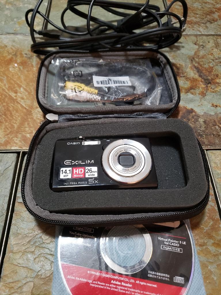 Casio exilim digital camera. Used