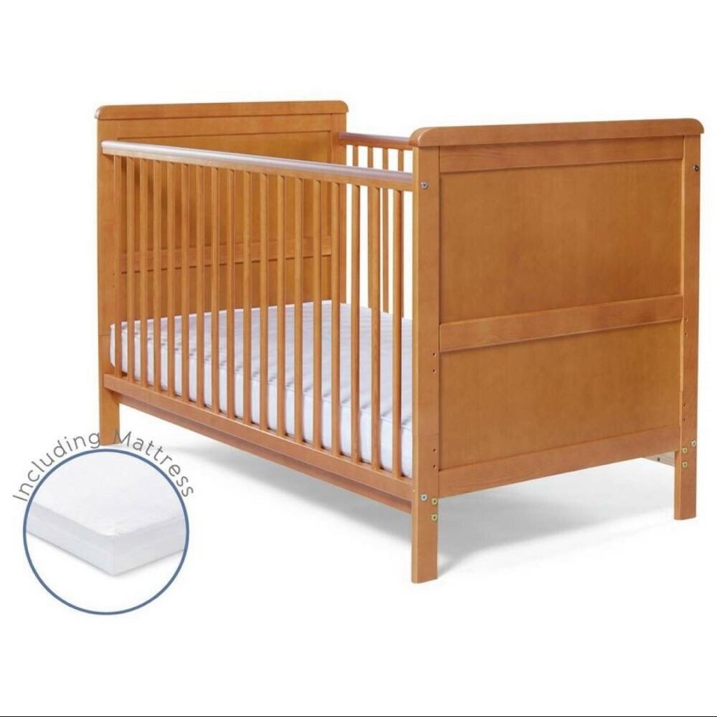 baby cot bed & mattress
