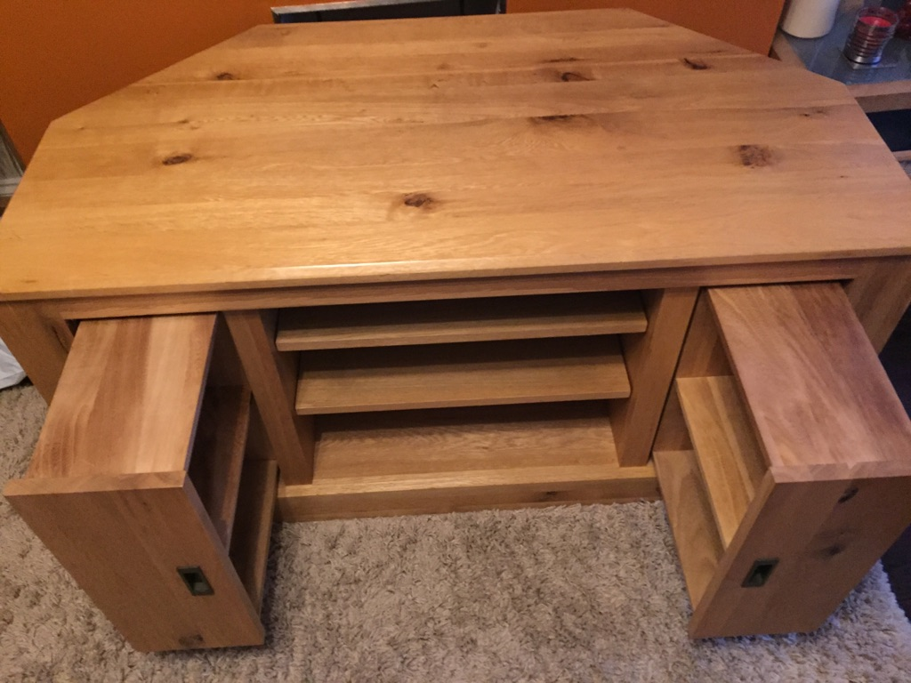 OAK TV Unit and Display Cabinet