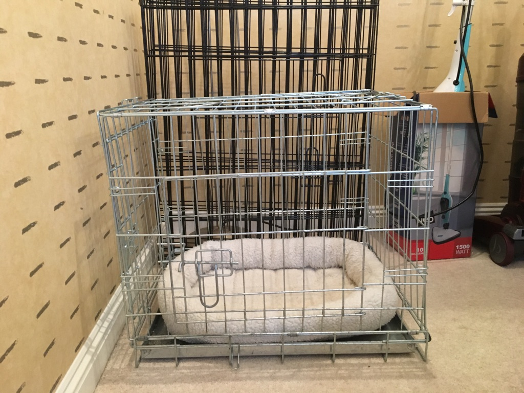 Pet crate and pen