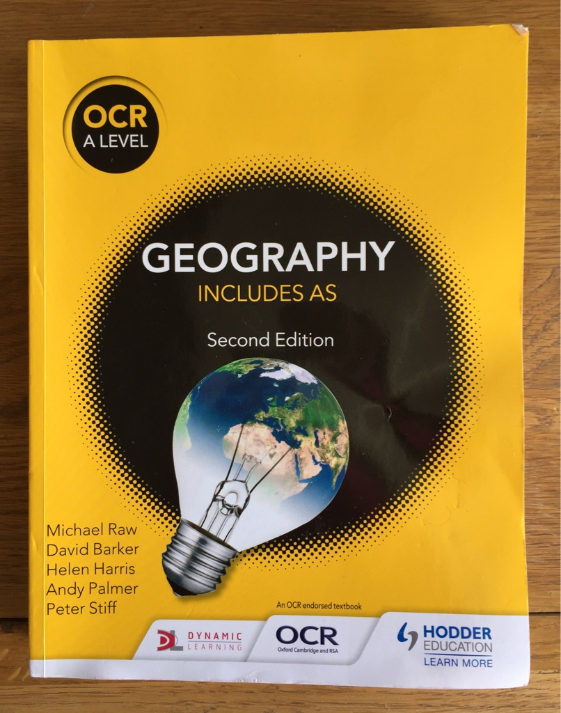 OCR A level Geography ( including AS level ) Textbook