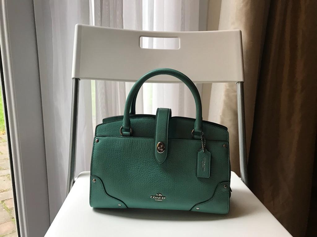 Coach handbag Mercer green