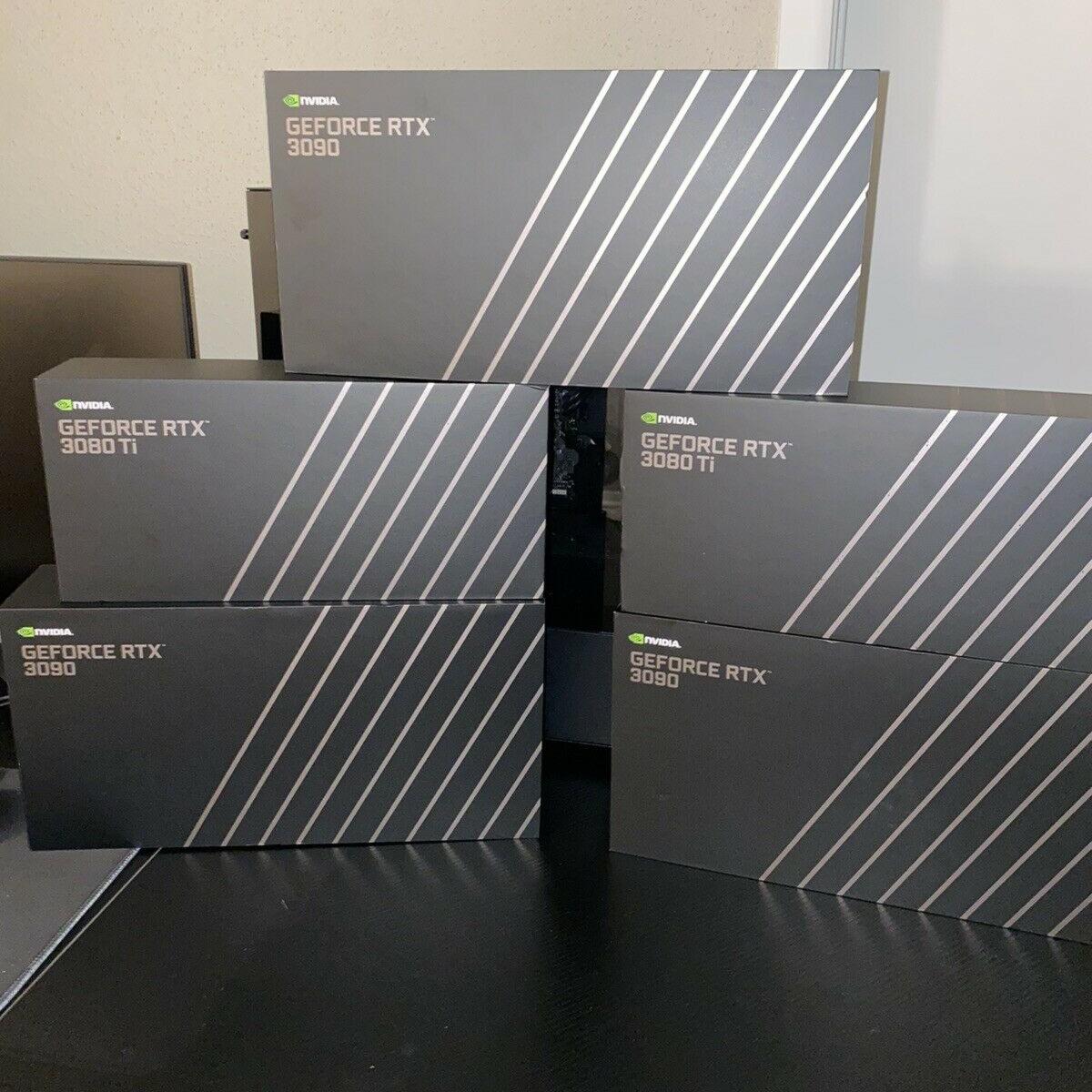 New NVIDIA GeForce RTX 3090 Founders Edition 24GB , EVGA GeForce RTX 3060