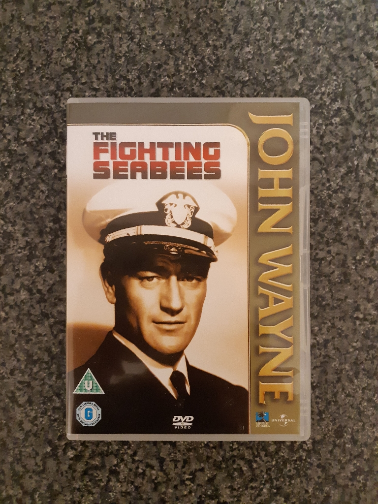John Wayne The Fighting Seabees DVD